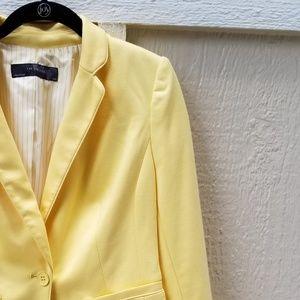 The Limited Yellow Blazer
